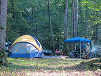 camping smoky mountains